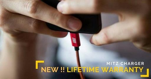 MITZ lightning iphone android micro usb type c cable