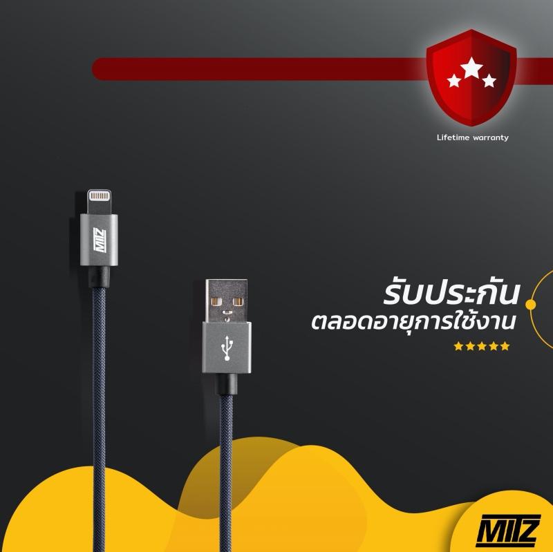 mitz cable iphone mfi apple ipad