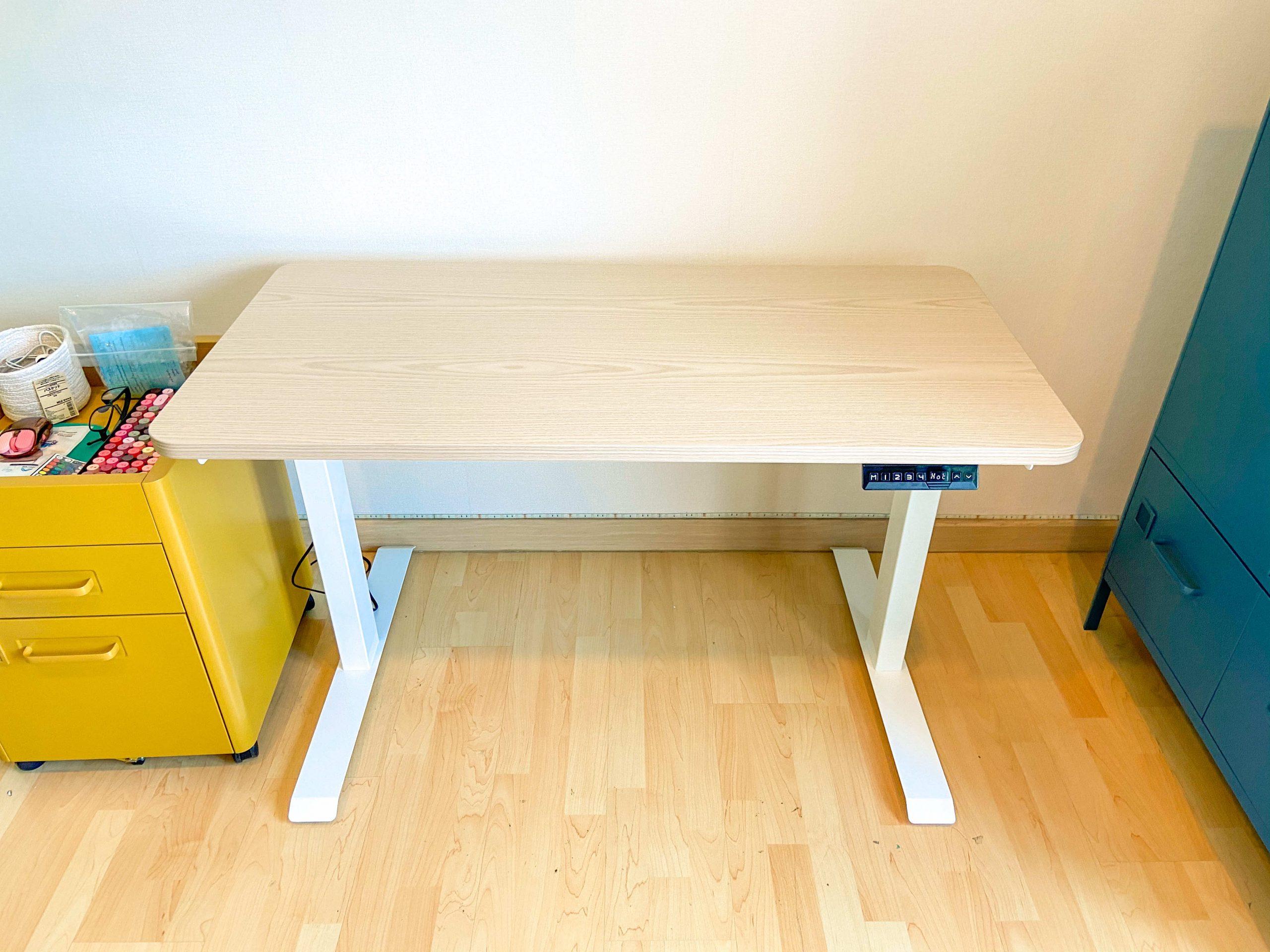 ergonomic adjustable table สี โต๊ะปรับระดับ mitz