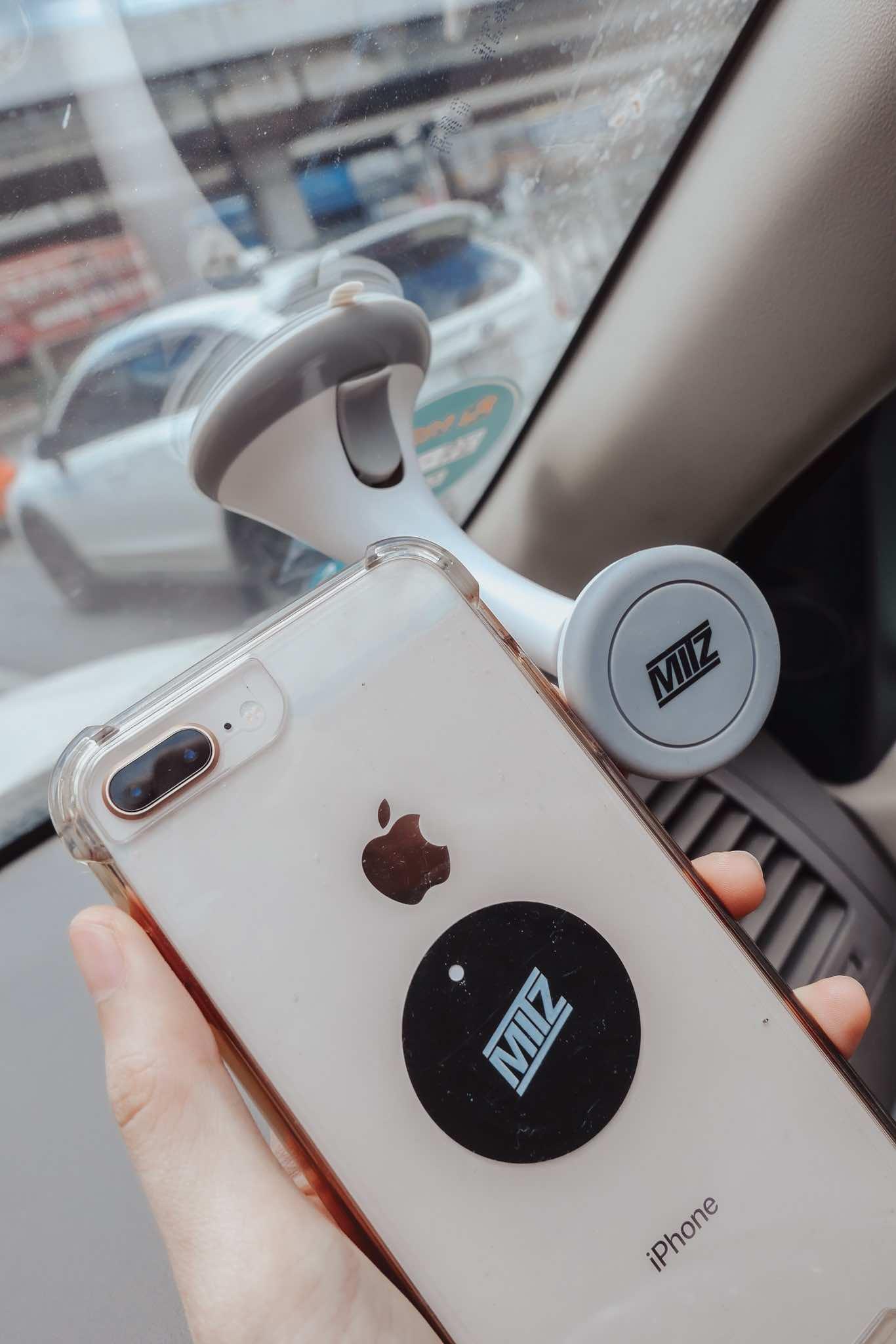 MITZ Phone Buddy - แท่นวางมือถือแม่เหล็ก บนรถ โต๊ะ Magnetic Car Phone holder สะดวก ไม่หลุด